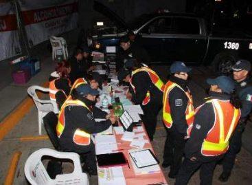 14 arrestados durante operativo Alcoholímetro en Oaxaca; Cuatro detenidos en diversos operativos