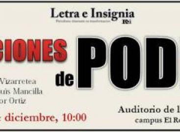 """Invitan a conferencia magna """"Relaciones de Poder"""", en la URSE, campus El Rosario"""