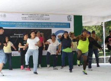 Con feria de la salud, activación física y plato del buen comer celebra IMSS Día Mundial de la Diabetes