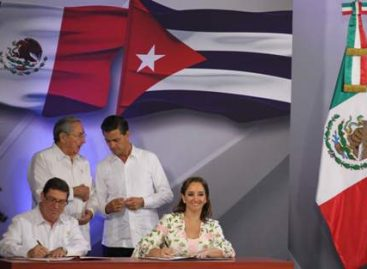 Firman ministros de Cuba y México memorándum de entendimiento; Estrechan lazos de cooperación
