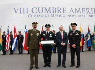 Clausuran VIII Cumbre de la Comunidad de Policías de América (Ameripol) México 2015