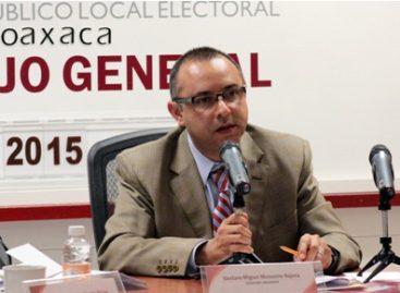 Fortalecen autoridades electorales la coordinación para el desarrollo del proceso comicial en Oaxaca