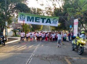 """Con carrera atlética concluye IMSS-Oaxaca """"Octubre mes de la Lucha Contra el Cáncer de la Mujer"""""""