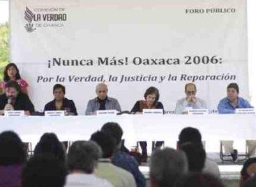 Conmemora Comisión de la Verdad con Foro Público agravios cometidos contra sociedad oaxaqueña