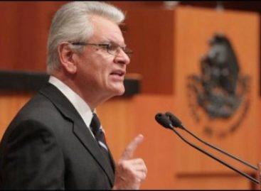 Álvaro Castro Estrada, candidato a la Suprema Corte de Justicia de la Nación, comparece ante senadores