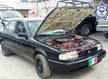 Recuperan cuatro vehículos con reporte de robo en la capital oaxaqueña y la Mixteca