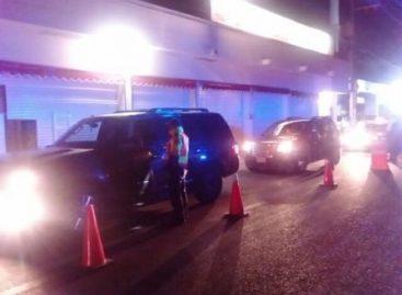 Arrestados 12 conductores en estado de ebriedad en Operativo Preventivo Alcoholímetro