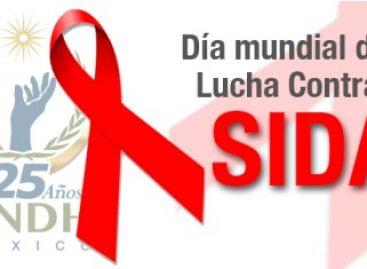 Hoy, Día Mundial del Sida, la CNDH responde a la discriminación: capacita y difunde información