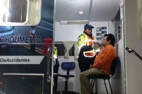 Arrestados 31 conductores en estado de ebriedad en Operativo Alcoholímetro en Oaxaca