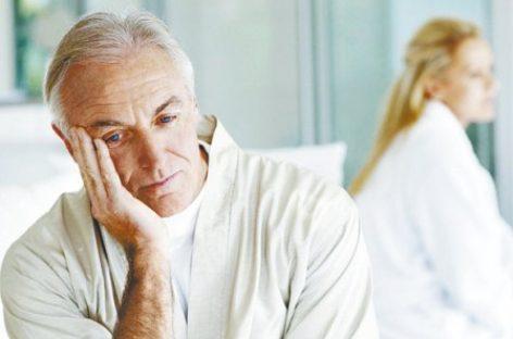 Al llegar a los 50 años, hasta el 20 por ciento de adultos padece de andropausia