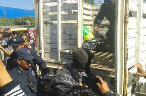 Asegura PGR siete toneladas de material pirotécnico en Oaxaca