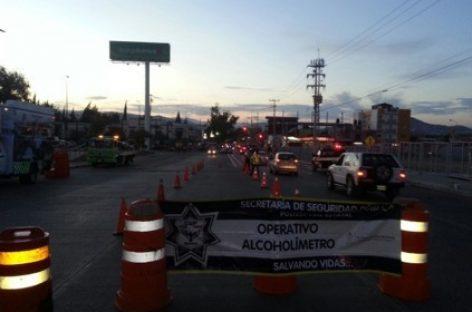 En marcha operativo Alcoholímetro durante el fin de año; Cuatro arrestados este lunes 28 de diciembre