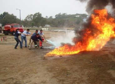 Con simulacro, refuerza Senado acciones de protección civil contra incendios