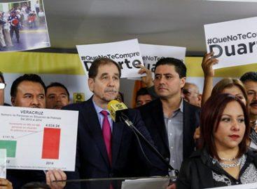 Para frenar régimen corrupto y autoritario priista en Veracruz, es necesaria la alianza: Basave Benítez