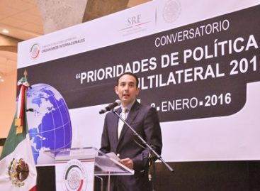 Debe México asumir un papel fundamental que lo coloque como líder de la Región: Gil Zuarth