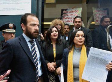 Interpone PRD ante la PGR denuncia por el Ecocidio en el Manglar de Tajamar