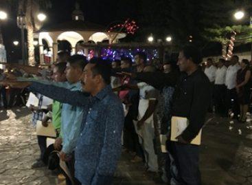 Se acreditan nuevas autoridades municipales ante dependencias estatales en Oaxaca