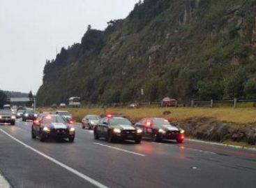 Implementa Policía Federal operativos por caída de aguanieve en carreteras del país