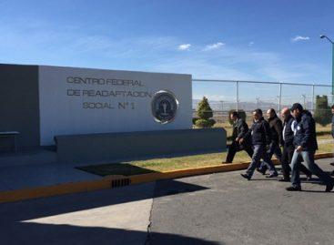 """Supervisa comisionado Nacional de Seguridad protocolo de seguridad en Cefereso 1 """"Altiplano"""""""
