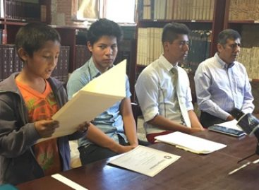 Premian a alumnos oaxaqueños ganadores del Concurso Internacional Diálogos Globales 2015