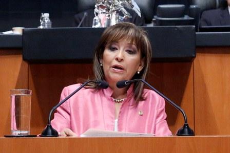 Senadora del PRD