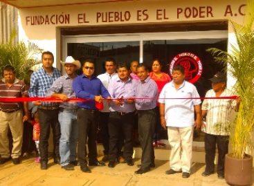 """Fundación """"El Pueblo es el poder"""", apoya a pobladores de San Sebastián Tutla, Oaxaca"""