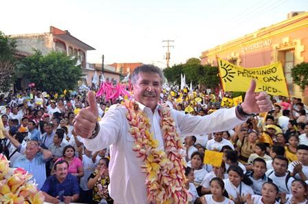 Candidato de la Coalición CREO