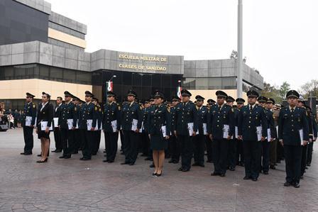 Clausuran Curso Básico de Formación Militar