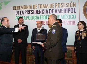 Asume Policía Federal la presidencia de la Comunidad de Policías de América, Ameripol