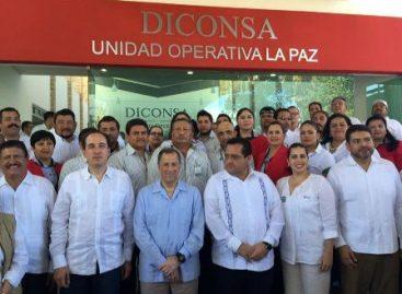 Entrega Diconsa remodelación de la Unidad Operativa La Paz; Combaten pobreza y desigualdad