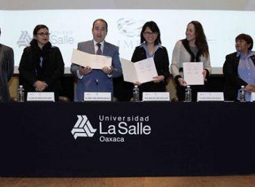 Firman convenio La Salle Oaxaca e Instituto Mexicano de la Propiedad Industrial