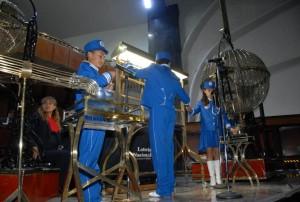Zárate Landero dio el campanazo de inicio del sorteo zodiaco numeró 1,291.