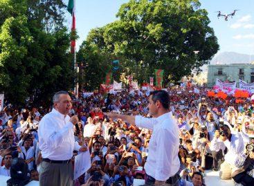 En evento al viejo estilo, electo Alejandro Murat candidato del PRI al gobierno