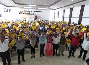 Transportistas se suman a Pepe Toño, para hacerlo candidato del PRD a la gubernatura