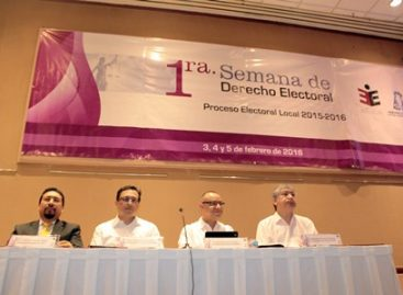 Inicia Primera Semana de Derecho Electoral; Abordan proceso electoral en Oaxaca