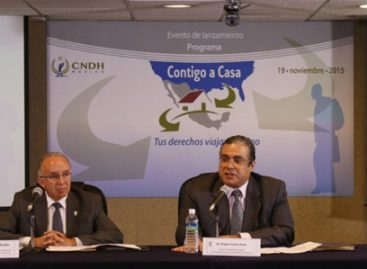 Observará CNDH respeto a derechos humanos de connacionales que regresan de EU en vacaciones de Semana Santa