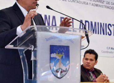 Pretenden manipular condiciones para beneficiar a un candidato oficial en la UABJO: Morales Santiago