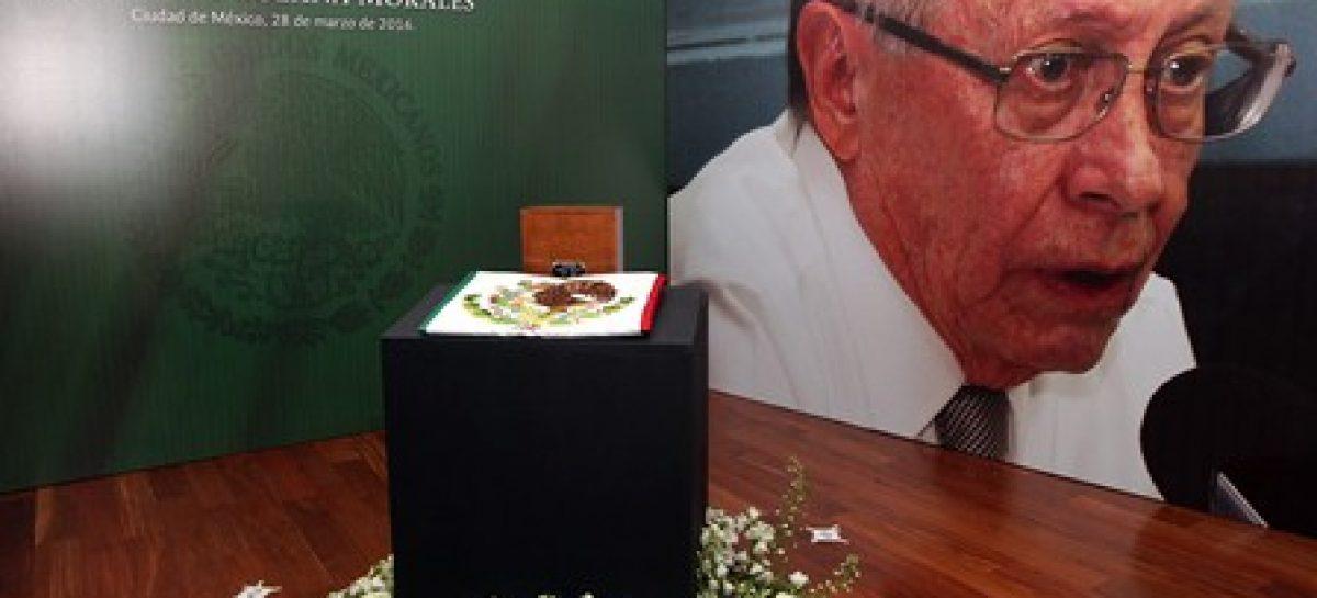 Rinde la SRE homenaje póstumo a Fernando Solana Morales, ex canciller de México