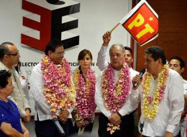 Registra PT a Benjamín Robles Montoya como su candidato a gobernador de Oaxaca