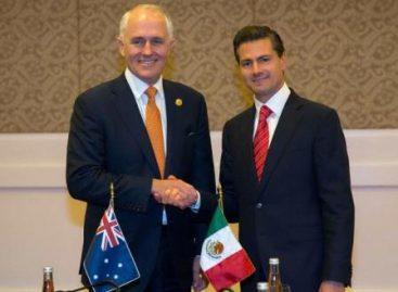 Celebran México y Australia 50 años de relaciones diplomáticas