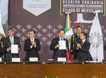 Gabino Cué preside la CONAGO, ofrece respaldo absoluto a Reformas de EPN