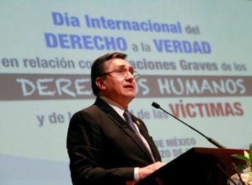 El derecho a la verdad es imperativo ético jurídico y deber del estado; se opone a la indiferencia y al olvido
