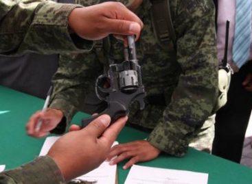 Recolectadas más de 98 mil armas de fuego durante la presente administración: Sedena