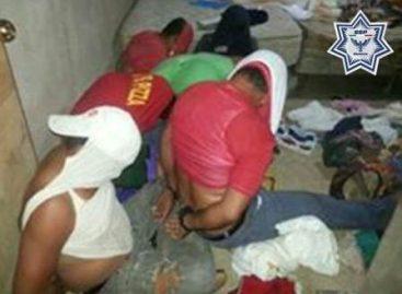 Detienen a siete presuntos secuestradores y rescatan a su víctima en Tuxtepec, Oaxaca