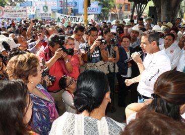 Oaxaca necesita un cambio y un gobierno que ayude: Murat Hinojosa
