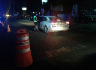 24 horas de arresto inconmutable a 10 conductores arrestados en operativo Alcoholímetro