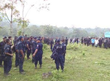 Desalojan fuerzas de seguridad a invasores de territorio Chimalapa; 26 personas detenidas