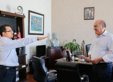 Toma protesta nuevo comisionado de Seguridad Pública Municipal de Oaxaca