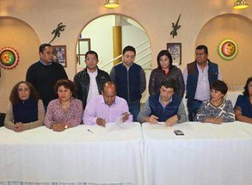 Aceptan trabajadores del Gobierno de Oaxaca 4.2 por ciento al salario, más prestaciones