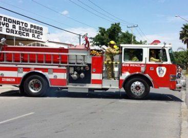 En las últimas horas el Heroico Cuerpo de Bomberos sofoca dos incendios